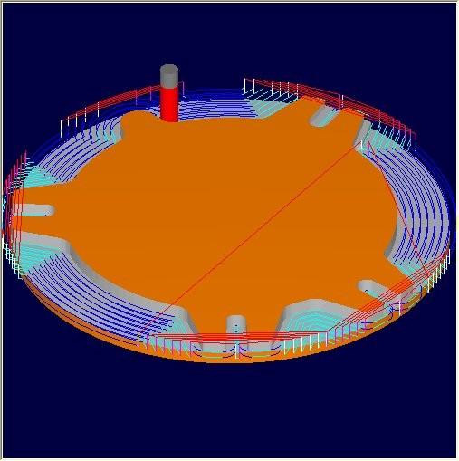 1 2 3 - VisualMILL Standard - CAM
