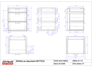 Hettich skříňka 4 300x218 - Symboly Hettich pro TurboCAD/DAEX