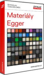 Materiály Egger pro TurboCAD/DAEX