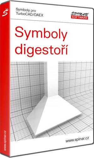 Knihovna 3D symbolů digestoří