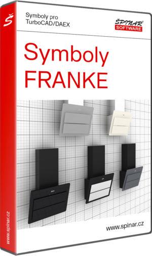Symboly FRANKE pro TurboCAD/DAEX