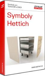 Symboly Hettich pro TurboCAD/DAEX
