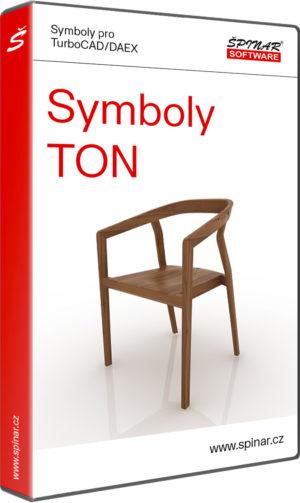 Symboly TON pro TurboCAD/DAEX