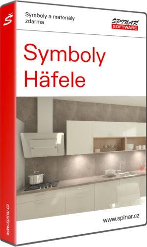 Symboly Häfele pro TurboCAD/DAEX