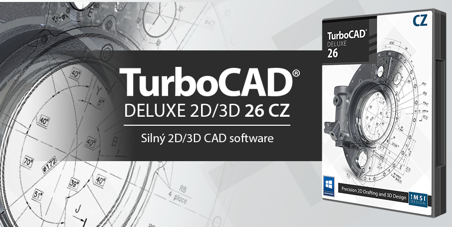 TC Deluxe 906x455px@2x 1 - TurboCAD Deluxe 26 CZ