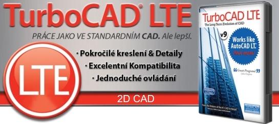 TC LTE v9 banner 1 - TurboCAD LTE 9 CZ