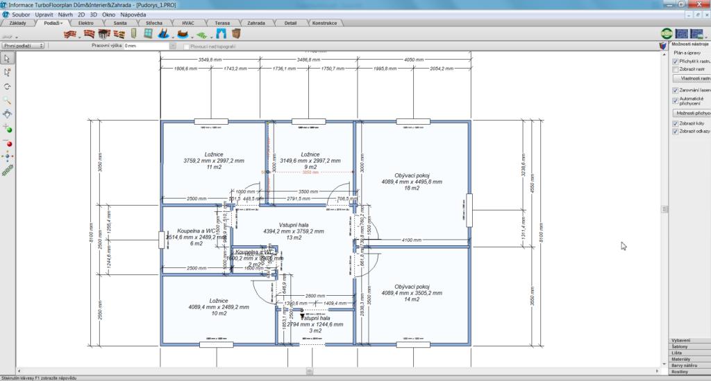 TFP 1 1 1024x550 - TurboFloorPlan 3D Dům & Interiér & Zahrada Pro CZ