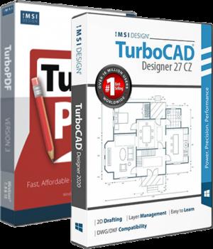 TurboCAD Designer 27 CZ + TurboPDF v3