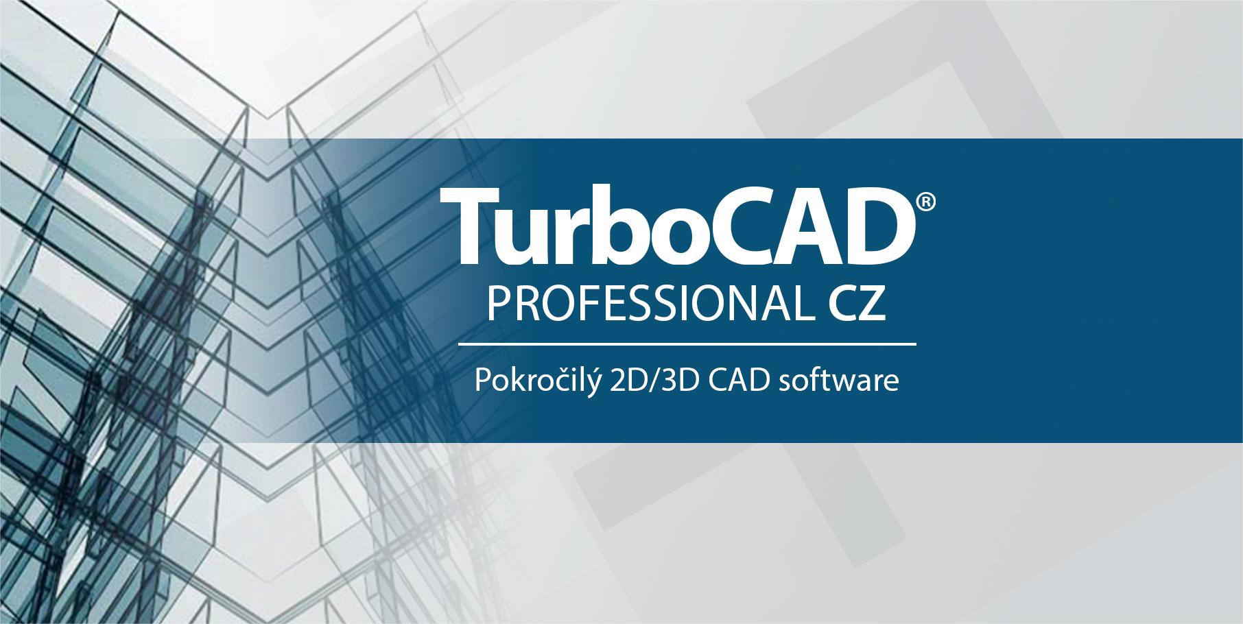 TurboCAD Professional CAD od SPINAR software pro 2D 3D kresleni vizualizaci - TurboCAD Pro 2D/3D 27 CZ