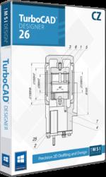 TurboCAD Designer 2D 26 CZ