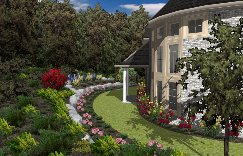 Zahrada1 1 1 1024x657 - TurboFloorPlan 3D Dům & Interiér & Zahrada Deluxe CZ