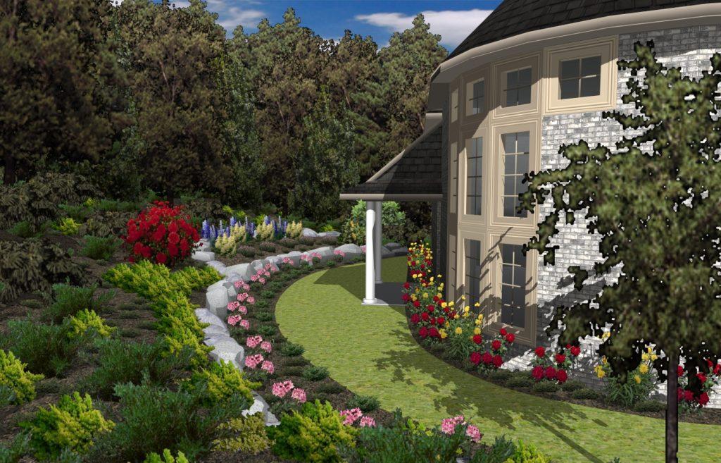 Zahrada1 1 1024x657 - TurboFloorPlan 3D Dům & Interiér & Zahrada Pro CZ