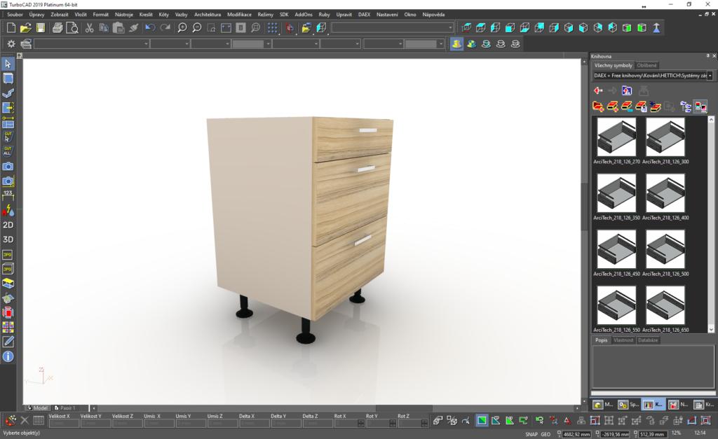animace 03 1024x627 - Symboly Häfele pro TurboCAD/DAEX