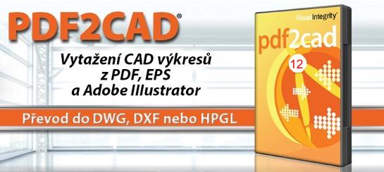 banner 1 - PDF2CAD 12 - převodník z PDF, AI do DWG, DXF