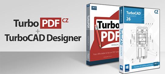 banner 3 - TurboCAD Designer 26 CZ + TurboPDF v3