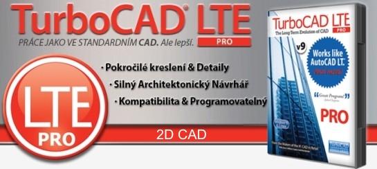 banner LTE v9 PRO 1 - TurboCAD LTE Pro 9 CZ