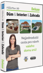 TurboFloorPlan 3D Dům & Interiér & Zahrada Deluxe CZ