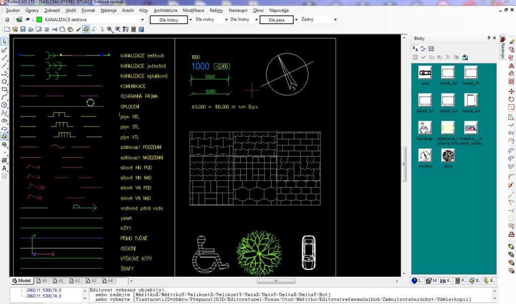cary vyskove koty 025 2 1024x603 - TurboCAD LTE 9 CZ
