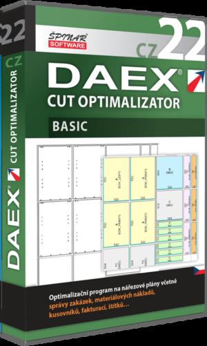 Upgrade na DAEX CUT Optimalizator Basic 22 CZ