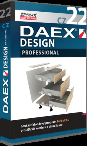 Upgrade na DAEX DESIGN Professional 22 CZ