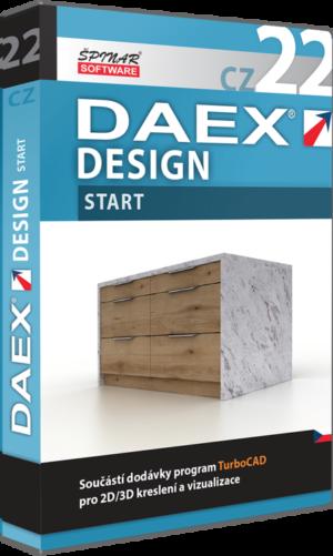 Upgrade na DAEX DESIGN Start 22  CZ
