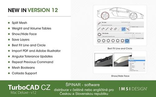 image 19 - TurboCAD MAC Deluxe 12 CZ
