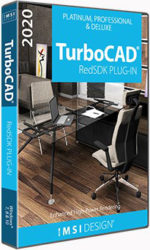 RedSDK Plug-in pro TurboCAD Platinum, Pro 2D/3D a Deluxe