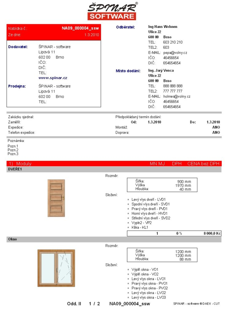 tiskovka01 dc 733x1024 - DAEX DESIGN Okna a Dveře 21