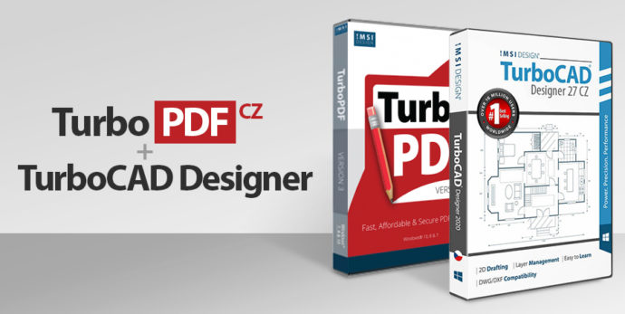 turboPDF TC Designer 2020 e1609706917427 - TurboCAD Designer 27 CZ + TurboPDF v3