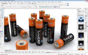 turbo cad deluxe ukazka baterie 300x187 - TurboCAD Platinum 27 CZ