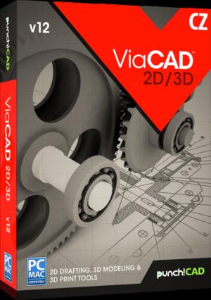 ViaCAD 2D/3D v12 CZ