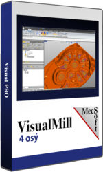 VisualMILL 4 osý – CAM