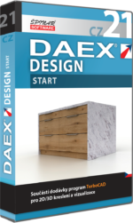 Upgrade na DAEX DESIGN Start 21  CZ