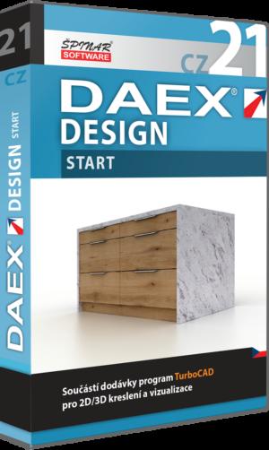 Upgrade na DAEX DESIGN Start 21  CZ