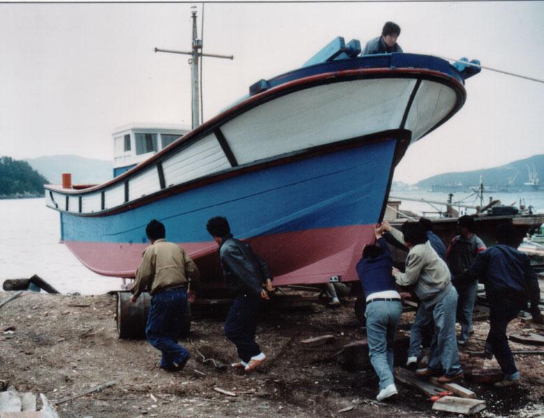 spousteni na vodu - Zkušenosti uživatele: Tomáš Vítek - Virtuální maketa korejské rybářské lodi