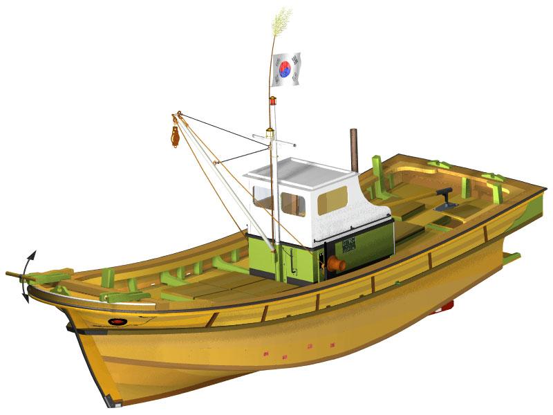 vitek k1 - Zkušenosti uživatele: Tomáš Vítek - Virtuální maketa korejské rybářské lodi