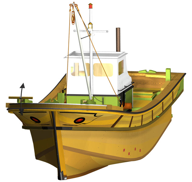 vitek k22 - Zkušenosti uživatele: Tomáš Vítek - Virtuální maketa korejské rybářské lodi