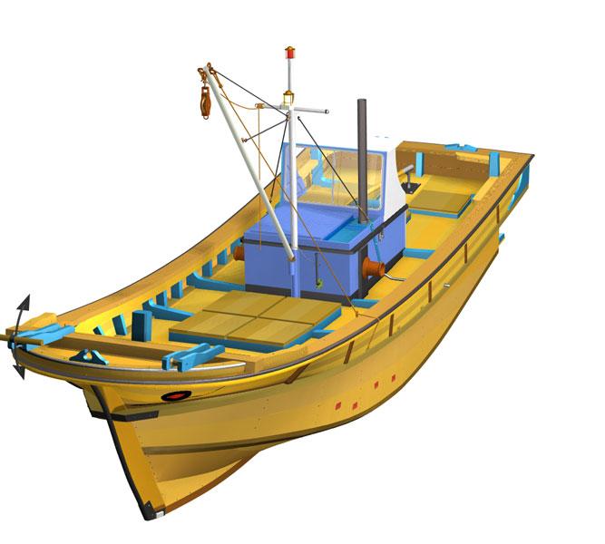 vitek k23 - Zkušenosti uživatele: Tomáš Vítek - Virtuální maketa korejské rybářské lodi