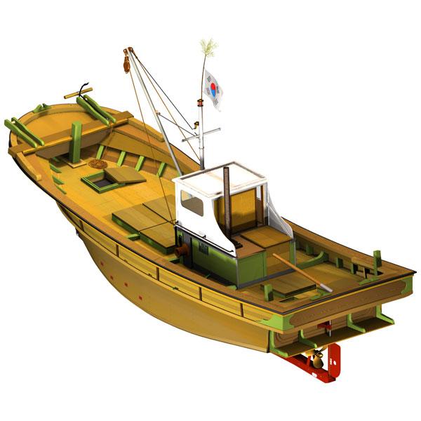 vitek k7 - Zkušenosti uživatele: Tomáš Vítek - Virtuální maketa korejské rybářské lodi