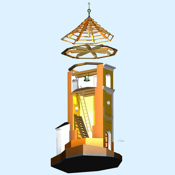 vitek zvonice rez - Zkušenosti uživatele: Tomáš Vítek - Virtuální maketa korejské rybářské lodi