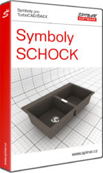 Symboly SCHOCK pro TurboCAD/DAEX