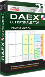Upgrade na DAEX CUT Optimalizator Professional 21 CZ