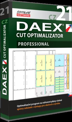 Upgrade na DAEX CUT Optimalizator Professional 21 CZ