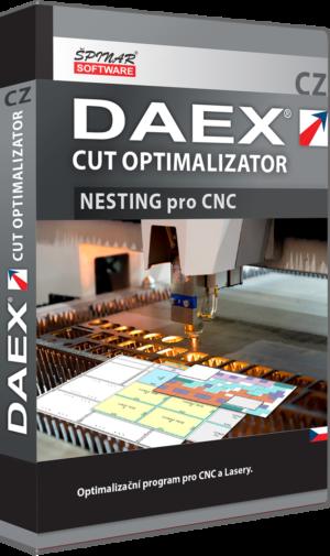 DAEX NESTING Optimalizace pro CNC