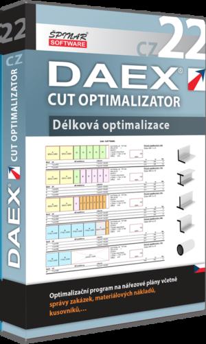 DAEX CUT Délková Optimalizace