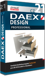 Upgrade na DAEX DESIGN Professional 21  CZ