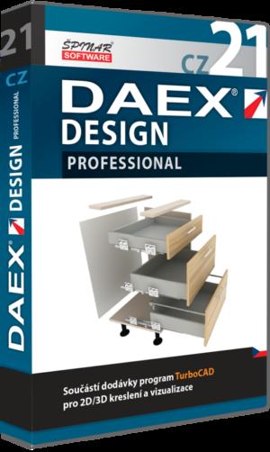 Upgrade na DAEX DESIGN Professional 21  CZ