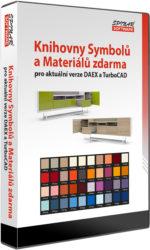 Symboly a materiály pro TurboCAD aDAEX zdarma