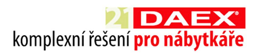 DAEX 21 logo SPINAR software - DAEX DESIGN  – program pronábytek ainteriéry