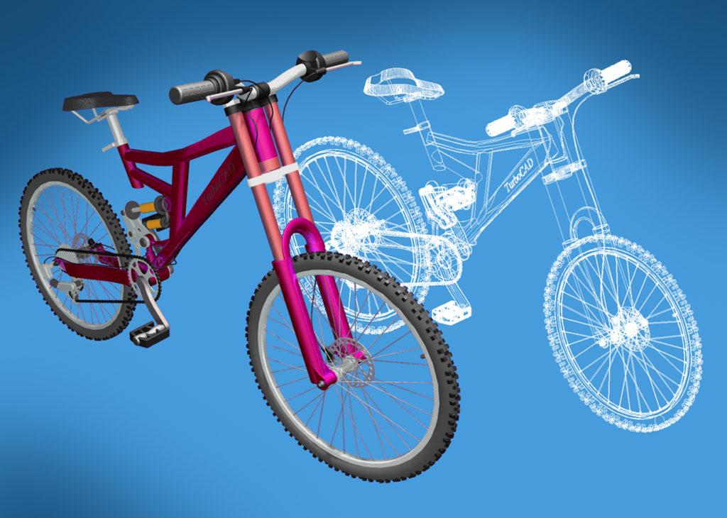 bike1 1024x730 - TurboCAD MAC12 CZ (česky)